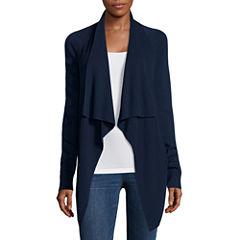 a.n.a® Long-Sleeve Basic Flyaway Cardigan