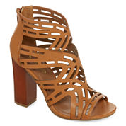 Bamboo Embark Cut-Out Pumps