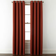 JCPenney Home™ Aurora Grommet-Top Curtain Panel