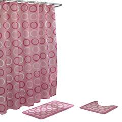 Terrell 15-pc Shower Curtain Set