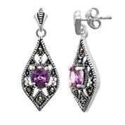 Sparkle Allure Le Vieux Marcasite Stud Earrings