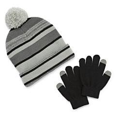 Weatherproof Hat & Glove Set - Boys 8-20