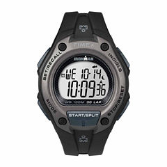 Timex Ironman Classic 30 Oversized Mens Black Strap Watch-Tw5m139009j