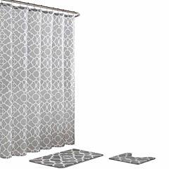 Elsa 15-Pc  Shower Curtain Set