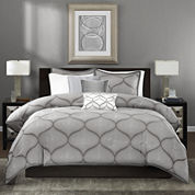 Madison Park Vella 6-pc. Duvet Cover Set