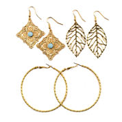 Decree Blue Topaz Earring Sets