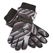 ZeroXposur® Printed Ski Gloves - Boys 8-20