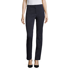 Liz Claiborne® Bi-Stretch Slim-Leg Pants
