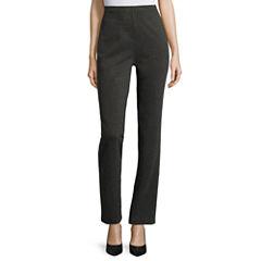 Liz Claiborne® Ponte Tapered Ankle Pants