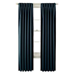 Liz Claiborne® Kathryn Room-Darkening Pinch-Pleat/Back-Tab Curtain Panel