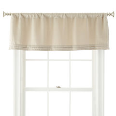 Liz Claiborne® Kathryn Rod-Pocket Tailored Valance