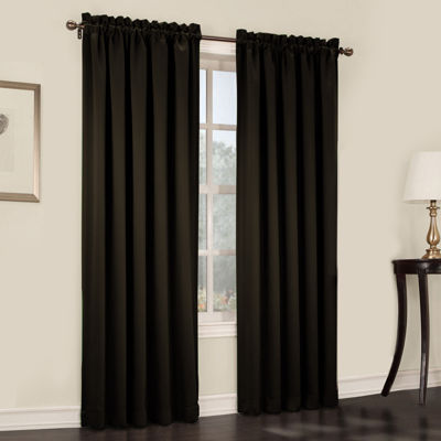 Elegant Sun Zero™ Emory 2 Pack Room Darkening Rod Pocket Curtain Panels