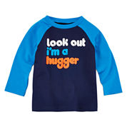 Okie Dokie® Long-Sleeve Colorblock Tee - Baby Boys newborn-24m