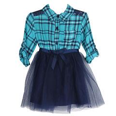 Lilt Sleeveless Tutu Dress - Toddler Girls