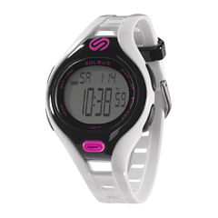 Soleus Dash Womens White Digital Running Watch