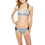 Arizona Push-Up Halter Swim Top or Hipster Bottoms - Juniors