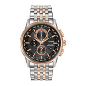 Citizen® Eco-Drive® World Chronograph A-T Mens Watch AT8116-57E