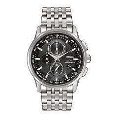Citizen® Eco-Drive® World Chronograph A-T Mens Watch AT8110-53E