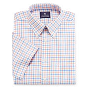 Stafford® Short-Sleeve Oxford Dress Shirt - Big And Tall