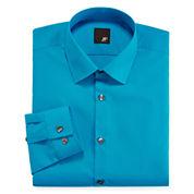 JF J. Ferrar® Slim-Fit Solid Dress Shirt - Big & Tall