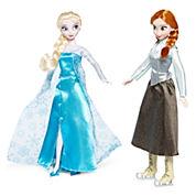 Disney Collection Anna and Elsa Dolls