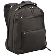 SOLO Vintage Leather Laptop Backpack