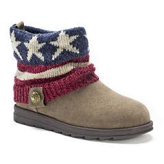 Muk Luks Americana Patti Womens Ankle Boots