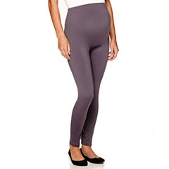 Maternity Seamless Ankle Leggings - Plus