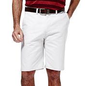 Haggar® Eco Straight-Fit Flat-Front Shorts