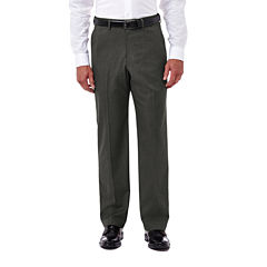 Haggar® Premium Stretch Classic Flat-Front Dress Pants