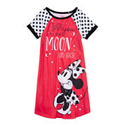 Minnie Mouse Short-Sleeve Nightshirt - Girls