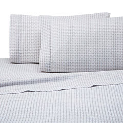 IZOD Anchor Microfiber Easy Care Sheet Set