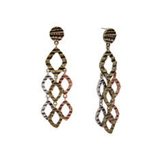 EL by Erica Lyons El By Erica Lyons July Tritone Chandelier Earrings