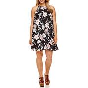 Decree® Halter Swing Dress - Junior Plus