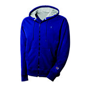 Champion® Powerblend Fleece Full-Zip Hoodie