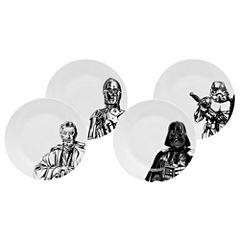 Star Wars 4-pc. Dessert Plate