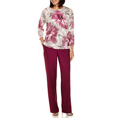 Alfred Dunner® Veneto Valley Shimmer Sweater or Pants