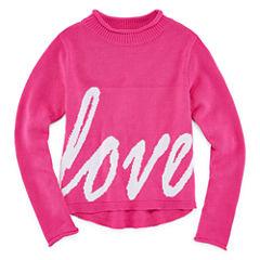 Say What Long Sleeve Sweatshirt - Big Kid Girls