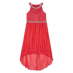 Emerald Gumdrops Sleeveless Maxi Dress - Big Kid Girls