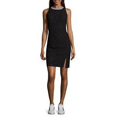 Project Runway Sleeveless Sheath Dress
