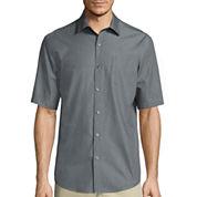 Claiborne® Short-Sleeve Chambray Shirt