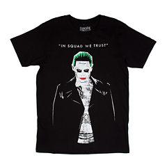 Suicide Squad Joker Short-Sleeve Crewneck Tee