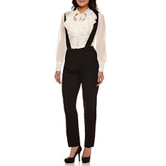 Bisou Bisou® Long-Sleeve Ruffled Top or Suspender Pants