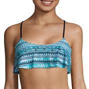Arizona Mod Dream Bralette Flounce Swim Top