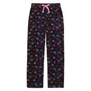 Total Girl Modern Black Hearts Pajama Pants - Girls