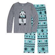 Total Girl 2-pc. Panda Pajama Set - Girls 7-16