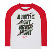 Nike Boys Short Sleeve T-Shirt-Toddler
