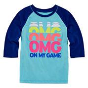 Xersion Girls Long Sleeve T-Shirt-Toddler