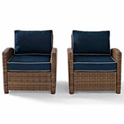 2-pc. Patio Lounge Chair