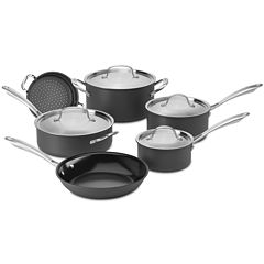 Cuisinart® GreenGourmet® 10-pc. Hard Anodized Cookware Set